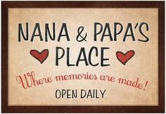 Discover and share Grandma And Grandpa Quotes. Explore our collection of motivational and famous quotes by authors you know and love. Papa Quotes, Grandpa Quotes, Sign Quotes, Grandma And Grandpa, Grandmother Quotes, Grandma Sayings, Grandparents Day, Grandchildren, Granddaughters
