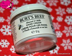 {Review} Burt's Bees Almond Milk Beeswax Hand Cream