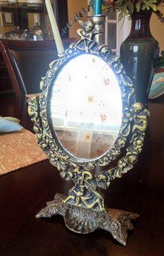Vintage Table Top Mirror