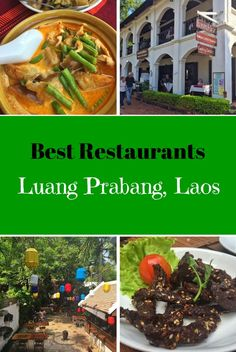 Here we explore the best restaurants in Luang Prabang, Laos. All serving up fresh Lao cuisine in ambient settings.