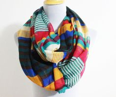 Green+and+Orange+Stripe+and+Color+Block+by+dailyaccessoriez,+$15.99