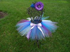 Blue and Purple Mermaid tutu-  $21.50