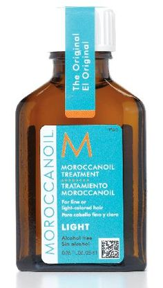 Moroccanoil Light Oil Treatment 25ml A styling, finishing and conditioning product for all hair types - particularly fine and light-coloured hair, such as blonde. Moroccanoil Treatment Light is an ultra-light formula which is absorbed by http://www.MightGet.com/january-2017-11/moroccanoil-light-oil-treatment-25ml.asp