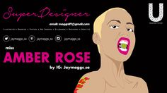 Cover photo Amber Rose, Billboard, Cover Photos, Banner, Movie Posters, Design, Banner Stands, Film Poster, Banners