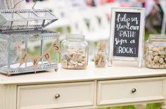 Turquoise + Pink Barn Wedding - Rustic Wedding Chic