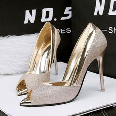 306822d9fcbfa women shoes low heel open toe pumps 2017 high heels silver wedding shoes  women heels summer