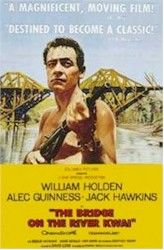 The Bridge on the River Kwai (1957) IMDb logo    with William Holden, Jack Hawkins, Alec Guinness, and Sessue Hayakawa    directed by David Lean