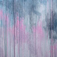 ELENA abstract painting palette knife huge by ElenasArtStudio, $309.00