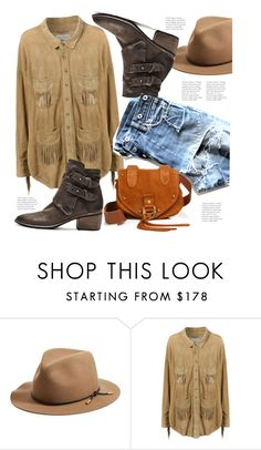 """Annie Oakley!"" by hattie4palmerstone ❤ liked on Polyvore featuring rag & bone, Faith Connexion and See by Chloé"