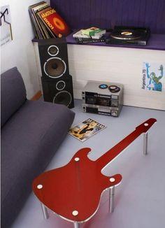 Faça você mesmo: 37 ideias de decoração musical para sua casa   Constru-Básico – Sua casa em um blog.