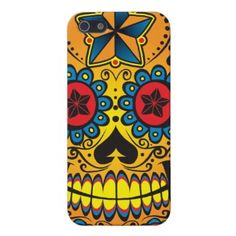 Sugar Skull iPhone 5 Case by Cold316 Check out covers for iPhone 5 online at zazzle.com    Grim Reaper Skateboard by Cold316 More Grim reaper Skateboards    Grim Reaper Skateboard by Co