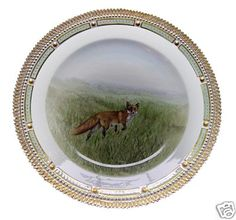 Royal Copenhagen Flora Danica Game Plate Red Fox only one thousand, eight hundred, twenty-nine dollars and ninety-nine cents.