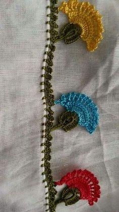 Most Beautiful Crochet Patterns Crochet Cross, Crochet Trim, Crochet Motif, Crochet Flowers, Knit Crochet, Crochet Patterns, Crochet Boarders, Crochet Decoration, Crochet Videos