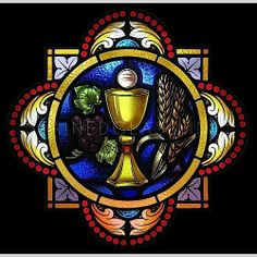Stained Glass Window: New Covenant #vitraux - Nouvelle Alliance