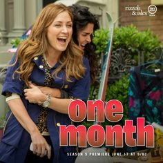 One month and they're back!! Can't wait #RizzoliandIsles