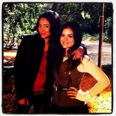 Shay Mitchell and Lucy Hale