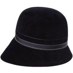 BORSALINO Hat ($249) ❤ liked on Polyvore