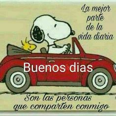 Pin by cozy para ti on frases y pensamientos Good Morning Snoopy, Good Morning Good Night, Good Morning Quotes, Good Day, Munier, Morning Thoughts, Happy Wishes, Clever Quotes, Positive Inspiration