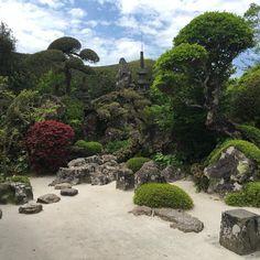 Samurai gardens #chiran in #Kagoshima prefecture #Kyushu #japan
