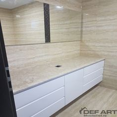 Set mobilier baie Garage Doors, Kitchen Cabinets, Outdoor Decor, Home Decor, Kitchen Cupboards, Homemade Home Decor, Decoration Home, Kitchen Shelves, Interior Decorating