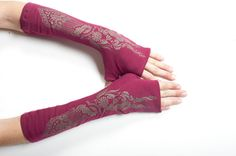 Fingerless Gloves-Gloves-Womens Clothing-Pixie fairy clothes-Womens Clothing-Winter Accessories-Arm Warmer-Clothing for Women