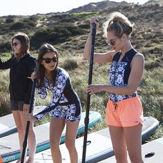 Oh yeah. Day 2 of our #supactive trip! Get on board ladies! #supactive #getonboard #standuppaddling #brunotti photo: @justineleenarts