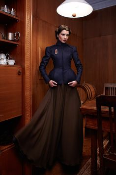 The newest collection of the bulgarian fashion brand Knapp, inspired from the 40's.