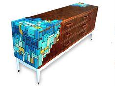Zoe Murphy Screen printed furniture