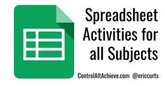 Spreadsheets are often thought of as a tool for math or statistics. Something just for crunching numbers and making graphs. Although those...