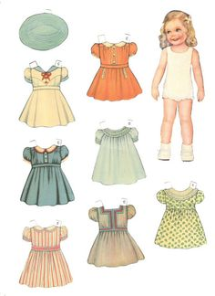 Tots & Togger * 1500 free paper dolls at Arielle Gabriel's The International Paper Doll Society and also free China and Japan paper dolls at The China Adventures of Arielle Gabriel * Paper Dolls Clothing, Doll Clothes, Paper Toys, Paper Crafts, Paper Dolls Printable, Moda Vintage, Vintage Paper Dolls, Antique Dolls, Doll Crafts