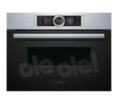 Bosch Serie 8 CMG636BS1, Piekarnik elektryczny z mikrofalą - cena i opinie - OleOle!