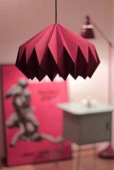 Handmade origami lamp by Abrasiv www.facebook.com/abrsv