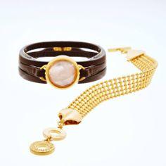 Luxurious Golden Bracelet by Sence Copenhagen - Z by Aliki Vergidou
