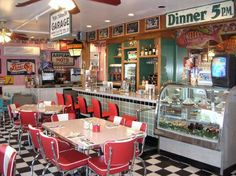 Main Street Diner in Martha's Vineyard is very much like how I envisioned Josey's diner, where Riley has a run-in with her troubled past.