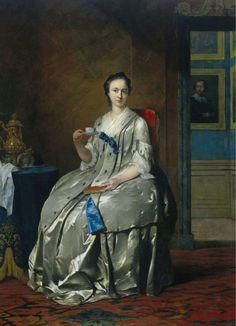 1745-1747 Frans van der Mijn - Machteld Muilman