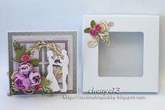 PAPELIA - Blog: Kartka ślubna w białym pudełku