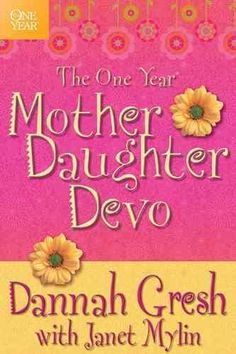 The One Year Mother-Daughter Devo is designed to be used by a mother and her tween daughter; both can read and understand the same devotion and share in the girl gab section to discuss their understan