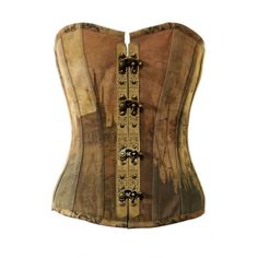 Love the pattern!  VG-106 Vintage Printed Canvas Overbust Corset - Vintage Goth