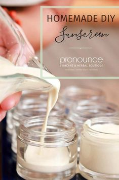DIY Sunscreen - Easy To Make (and why YOU need this recipe)! • pronounceskincare.com