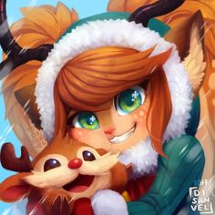 Snow Fawn Poppy by GualitoSandra HD Wallpaper Background Fan Art Artwork League of Legends lol Morgana League Of Legends, League Of Legends Poppy, League Of Legends Comic, League Of Legends Characters, Character Concept, Character Art, Character Design, Fanart, Poppy League