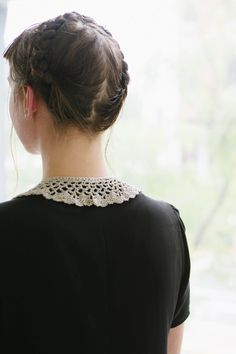 pamela collar by rebecca velasquez / in quince & co. sparrow