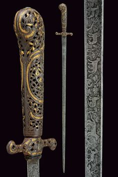 A beautiful small-sword , provenance: Germany dating: 18th Century.