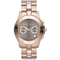 Buy Marc By Marc Jacobs Pink Women'S Chronograph Blade Rose Gold-Tone Stainless Steel Bracelet Watch Similar products also available. Marc Jacobs Uhr, Marc Jacobs Watch, Blade And Rose, Jewelry Accessories, Fashion Accessories, Diamond Are A Girls Best Friend, Stainless Steel Bracelet, Cool Watches, Women's Watches