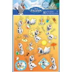 Disney Frozen Olaf Sticker Sheets, 4ct, Party Favors - Amazon Canada