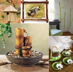 Image Search Results for feng shui family Small Fountains, Indoor Water Fountains, Feng Shui, Bamboo Water Fountain, Table Fountain, Fountain Ideas, Diy Design, Interior Design, Design Ideas