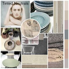 tinted neutrals collage