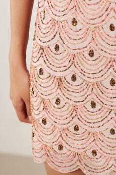 Scalloped Shift Dress - anthropologie.com - by Moulinette Soeurs