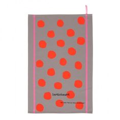 Lovely large neon spotted tea towel from La Cerise sur le Gateau Celebrity Bodies, Waist Trainer Corset, Tea Towels, Orange, Polka Dots, Candy, Contemporary, Gifts, Ebay