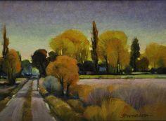 "Contemporary Painting - ""Slaterville Dusk"" (Original Art from Mac Stevenson)"