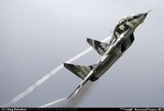 Ukraine AF digital camo MiG-29UB Fulcrum | ★ Su-27 Flanker ★